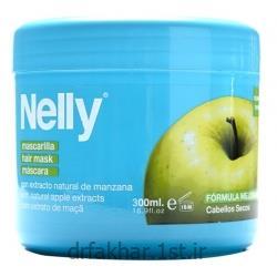عکس سایر محصولات زیبایی و مراقبت های شخصیماسک مو مغذی و احیا کننده سیب روزانه نلی 300 میل