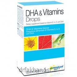 قطره DHA ویتامین یورو نچرال