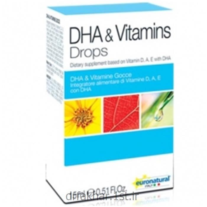 عکس مکمل های مراقبت از سلامتیقطره DHA ویتامین یورو نچرال