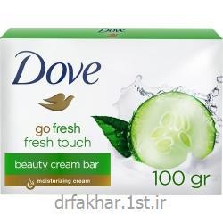 عکس صابونصابون زیبایی Fresh Touch داو 100 گرمی