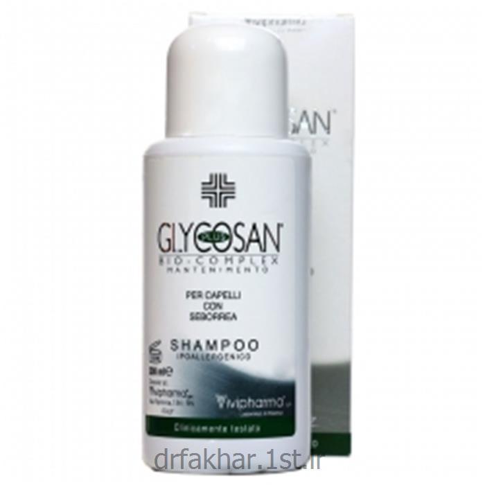 شامپو درمان ریزش گلیکوزان موی چرب