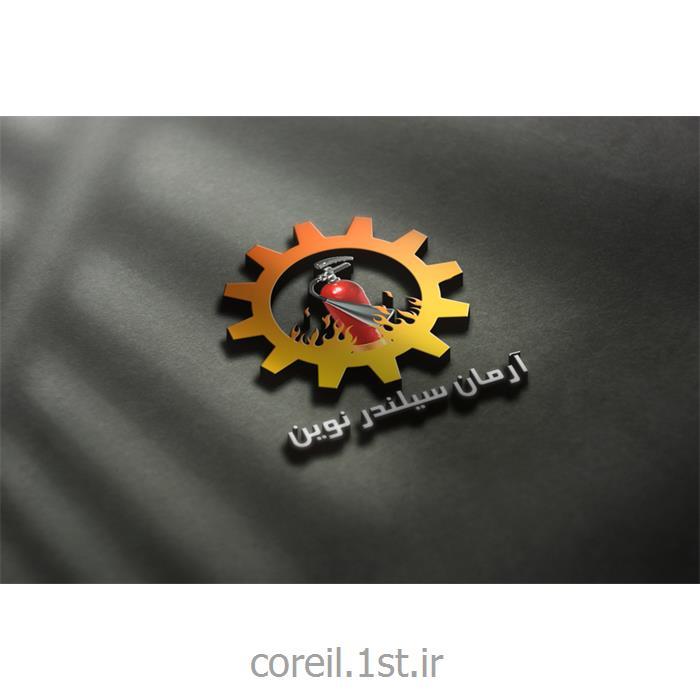 طراحی لوگو گروه تولیدی آرمان سیلندر نوین