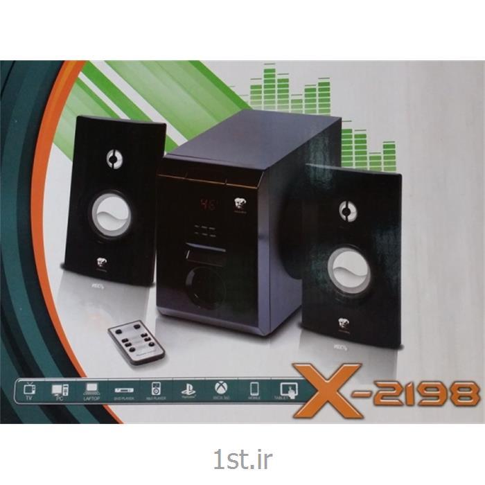 عکس سایر لوازم جانبی کامپیوتراسپیکر 3 تیکه Microfire مدل X-2198