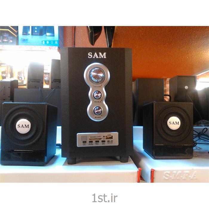 عکس سایر لوازم جانبی کامپیوتراسپیکر 3 تیکه SAM مدل J228
