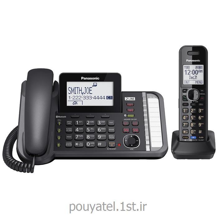 عکس تلفن بیسیمتلفن بیسیم پاناسونیک مدل KX-TG9581