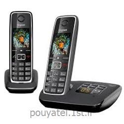 عکس تلفن بیسیمگوشی تلفن  گیگاست آلمان مدل Gigaset C530 A Duo