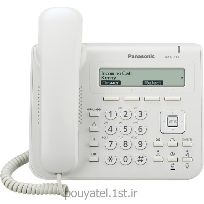 گوشی تحت شبکه SIP پاناسونیک KX-UT113<