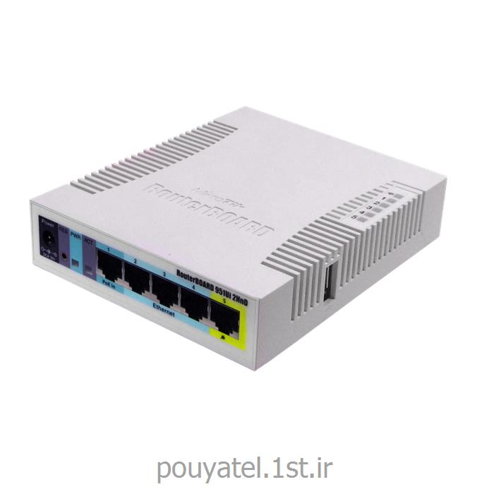 عکس سوئیچ شبکهسوئیچ شبکه روتر میکروتیک Mikrotik RB951Ui-2HnD