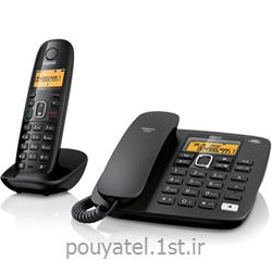 عکس تلفن بیسیمتلفن بی سیم و سیم دار گیگاست مدل gigaset A590