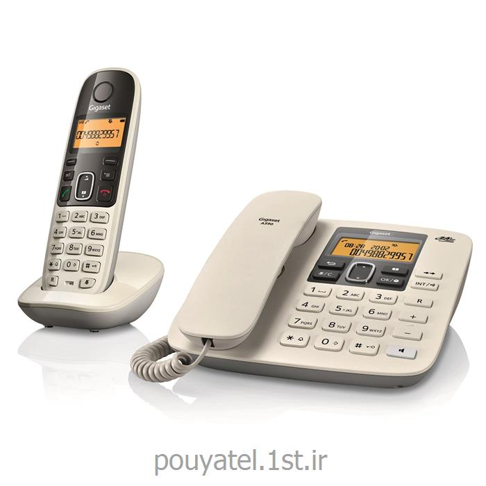 تلفن بی سیم و سیم دار گیگاست مدل gigaset A590<