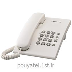 تلفن رومیزی ساده باسیم پاناسونیک KX-TS500MX