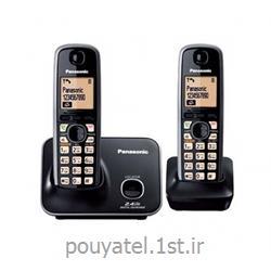 عکس تلفن بیسیمتلفن بی سیم پاناسونیک مدل KX-TG3712