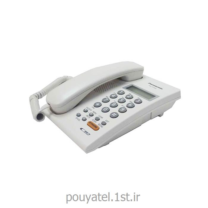 عکس تلفن با سیمتلفن با سیم پاناسونیک مدل KX-TT7705X