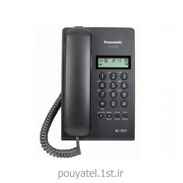 عکس تلفن با سیمتلفن با سیم پاناسونیک مدل KX-TT7703X