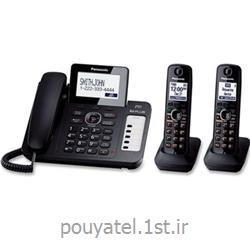 عکس تلفن بیسیمتلفن بی سیم پاناسونیک مدل KX-TG6672