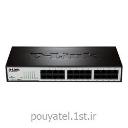 عکس سوئیچ شبکهسوئیچ شبکه 10/100 مگابیتی D-LINK DES-1024D