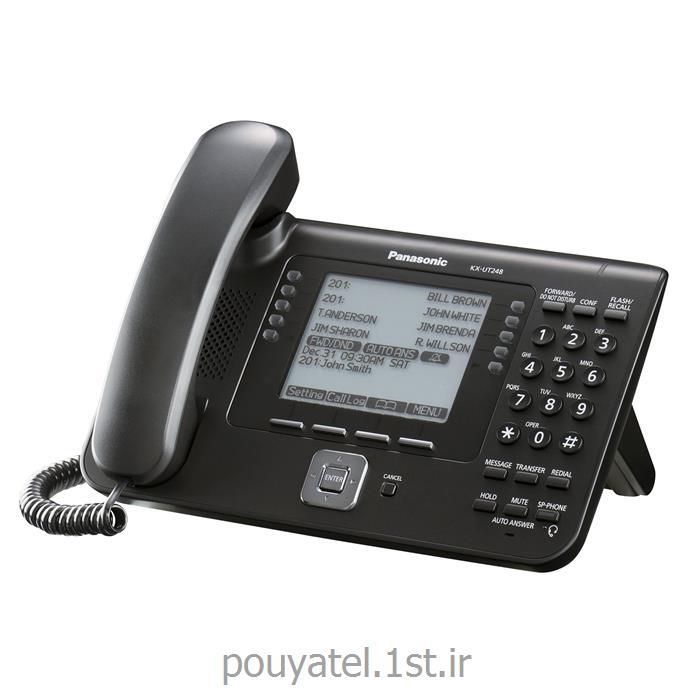 عکس تلفن سانترال ( PBX )گوشی تحت شبکه SIP پاناسونیک KX-UT248
