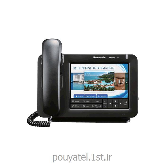 عکس تلفن سانترال ( PBX )گوشی تحت شبکه SIP پاناسونیک KX-UT670