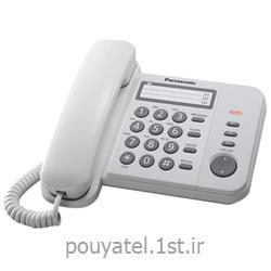 عکس تلفن با سیمتلفن ساده رومیزی پاناسونیک مدل KX-TS520