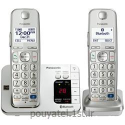 عکس تلفن بیسیمتلفن بیسیم پاناسونیک دو گوشی مدل KX-TGE262