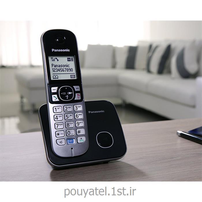 عکس تلفن بیسیمتلفن بیسیم پاناسونیک مدل kx-tg6811bx
