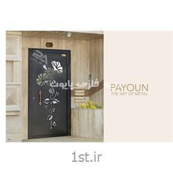 درب فلزی پایون برای ساختمان های لوکس و مدرن