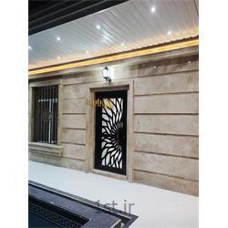 درب تک لنگه فلزی پایون مناسب درب ورودی ساختمان