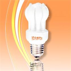 عکس لامپ کم مصرف و فلورسنتلامپ کم مصرف 11 وات اتحاد (لوتوس)