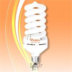 عکس لامپ کم مصرف و فلورسنتلامپ کم مصرف 50 وات تمام پیچ (اسپیرال)