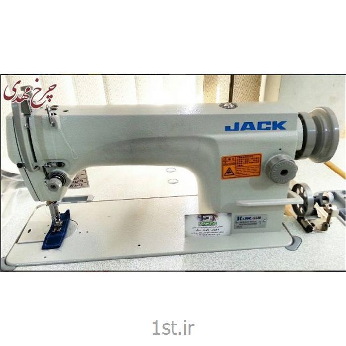چرخ خیاطی صنعتی کارگاهی راسته دوز جک مدل 5550<