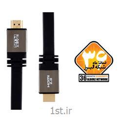 کابل HDMI2.0 Flat Cable کی نت پلاس مدل KP-HC166 به متراژ 30 متر