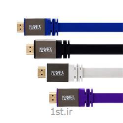 کابل HDMI2.0 Flat Cable کی نت پلاس مدل KP-HC162 به متراژ 5 متر