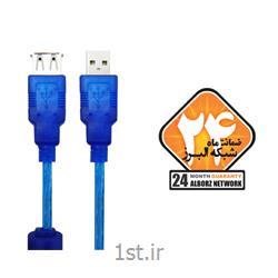 کابل افزایش USB 2.0 کی نت پلاس مدل KP-C4005 به متراژ 3 متر