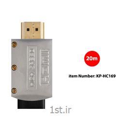 کابل HDMI2.0 Flat Cable کی نت پلاس مدل KP-HC169 به متراژ 20 متر