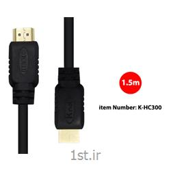 کابل HDMI1.4  کی نت به متراژ 1.5 متر