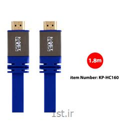 کابل HDMI2.0 Flat Cable کی نت پلاس مدل KP-HC160 به متراژ 1.8 متر