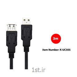 کابل USB2.0 Extension کی نت مدل K-UC505 به متراژ 3 متر