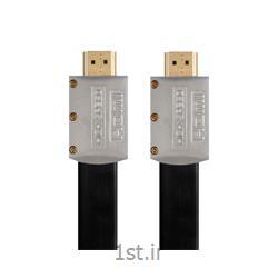 عکس کابل صوتی و تصویریکابل HDMI2.0 Flat Cable کی نت پلاس مدل KP-HC168 به متراژ 15 متر