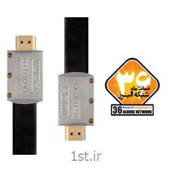 کابل HDMI2.0 Flat Cable کی نت پلاس مدل KP-HC168 به متراژ 15 متر