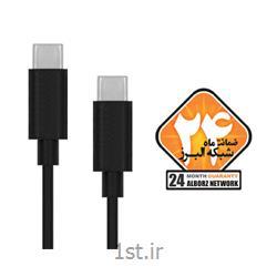 کابل USB2.0 Type C to Type C کی نت به متراژ 1.2 متر
