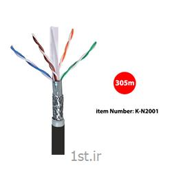 کابل شبکه Cat6 SFTP Outdoor کی نت مدل K-N2001 به متراژ 305 متر