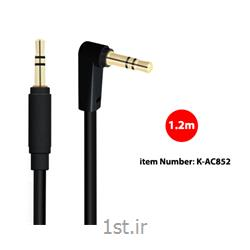 کابل Stereo AUX کی نت مدل K-AC852 به متراژ 1.2 متر