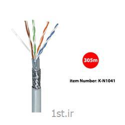 کابل شبکه Cat 5 SF/UTP کی نت مدل K-N1041 به متراژ 305 متر
