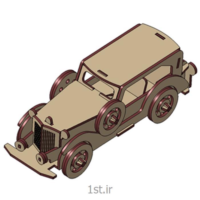 پازل سه بعدی ام دی اف ماشین فورد بزرگ3d puzzle