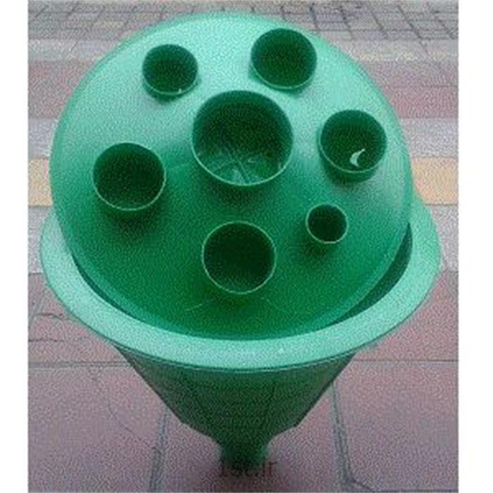 گلدان درب چاه پلیمری سبز آبگیران