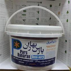 عکس رنگ اکریلیکرنگ اکرولیک 4 کیلویی پارس بهار