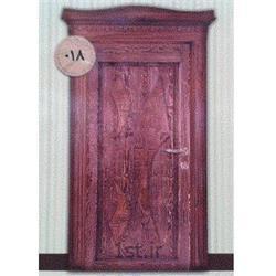 درب چوبی sgp ضد حریق مدل 018 آذین