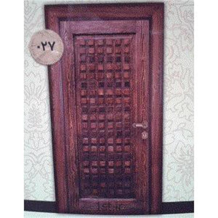 درب چوبی sgp ضد حریق مدل 027 آذین