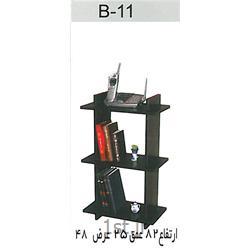 عکس قفسه و طاقچه وسایلکتابخانه تو در تو B11