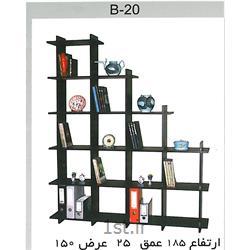 عکس قفسه و طاقچه وسایلکتابخانه تو در تو B20